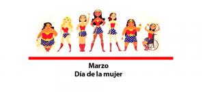 calendario dia de la mujer